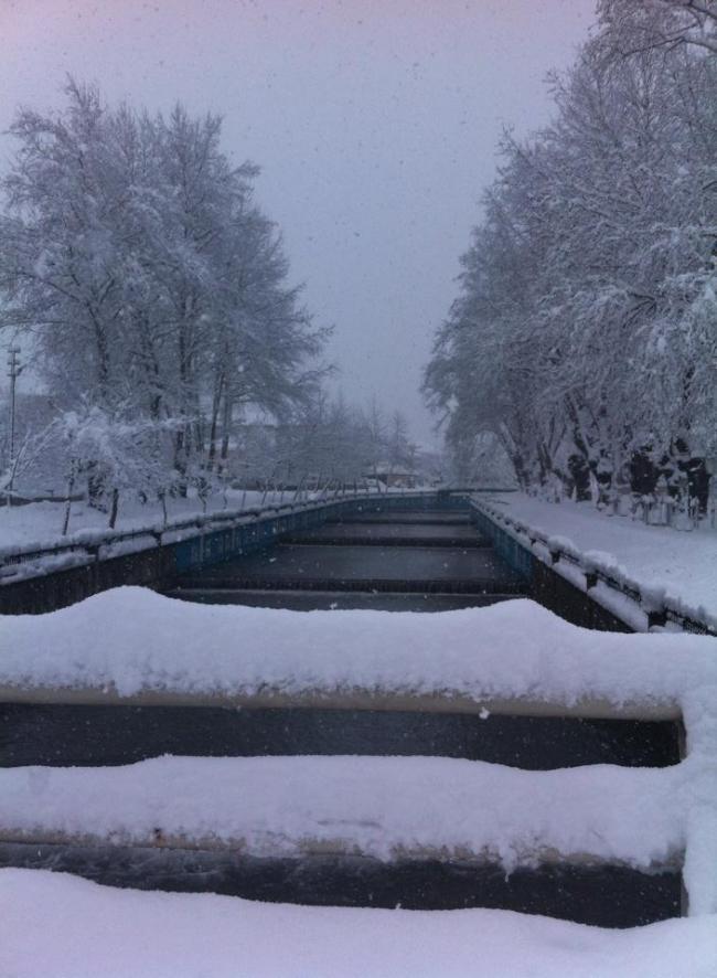 Hendek'ten Kar Manzaraları