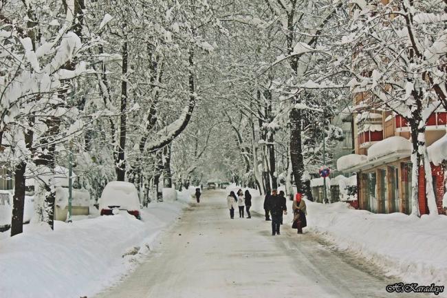 Hendek'ten Kar Manzaraları -1