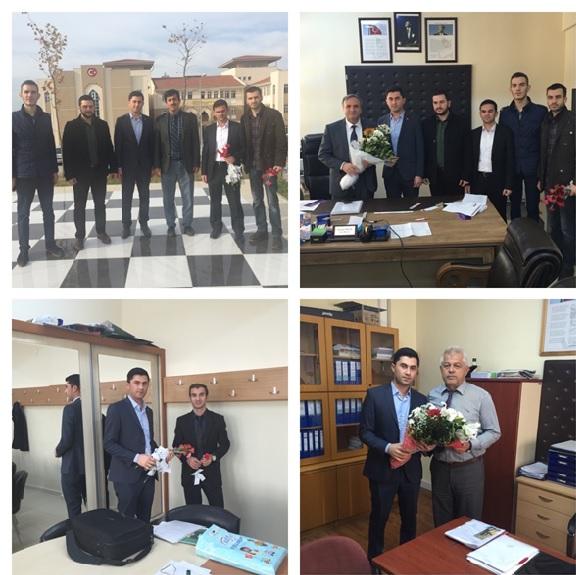 AK Partili Gençlerden Öğretmenler Günü Mesaisi