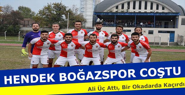 Hendek Boğazspor Coştu