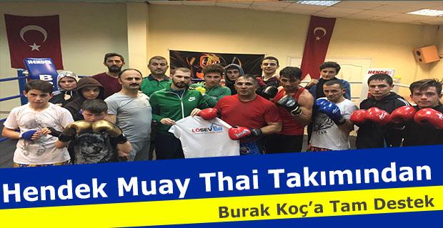 Muay Thai Takımından Koç'a Tam Destek