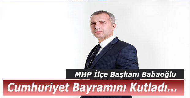 Babaoğlu, Cumhuriyet Bayramı Bayramı'nı Kutladı