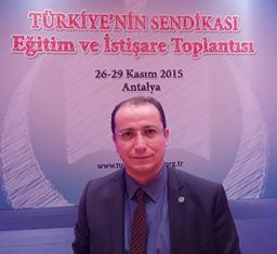 Kutluay Benli (Türk Eğitim-Sen Hendek İlçe Başkanı