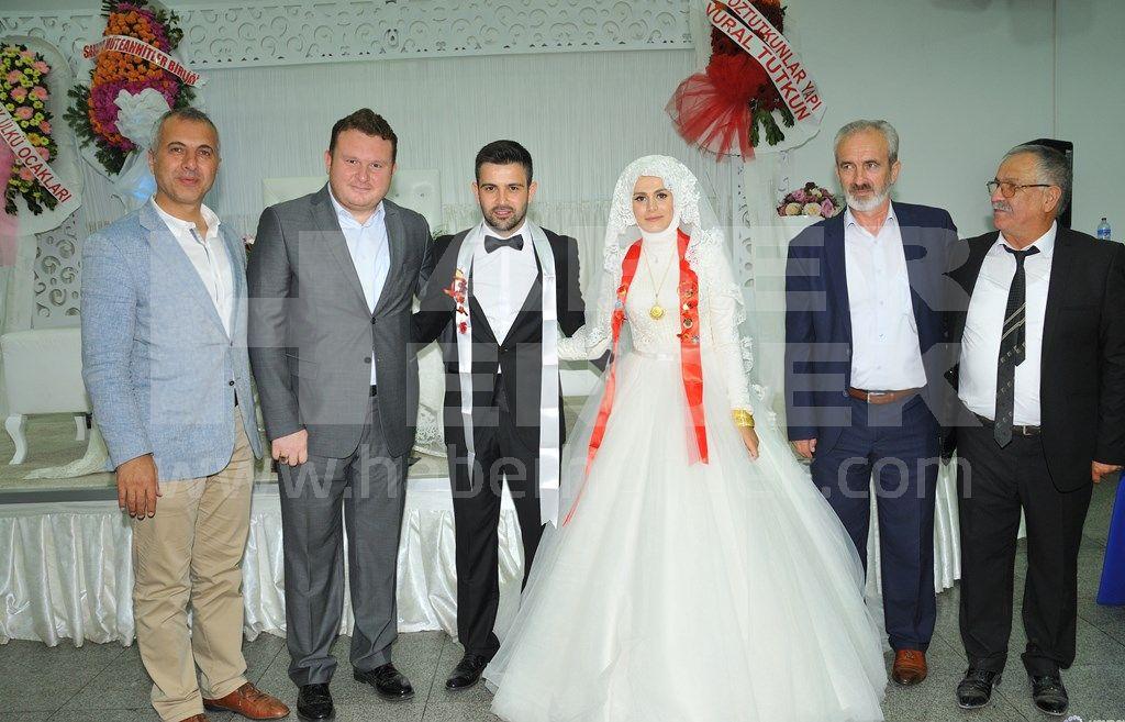 MHP'liler Selda ve Hızır'ın Mutlu Gününde Buluştu