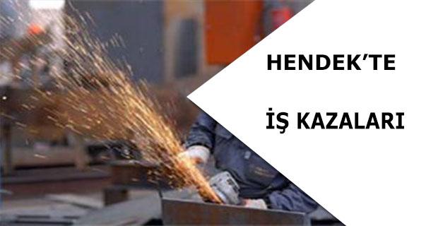 Hendek'te İş Kazaları
