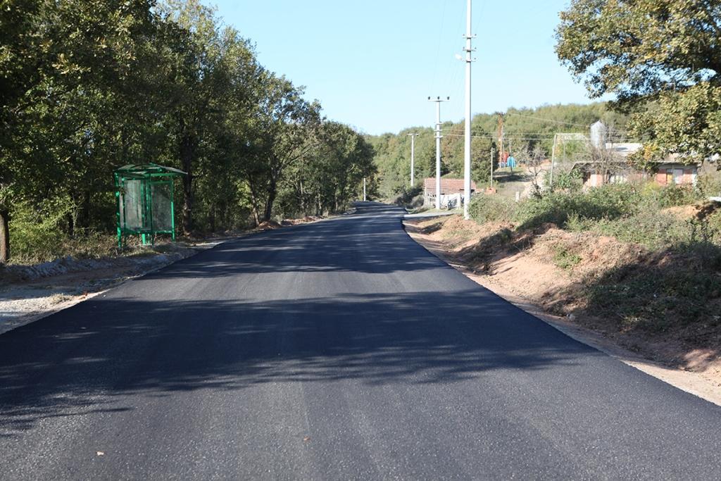 Hendek'te Aktefek ve Soğuksu asfaltlandı