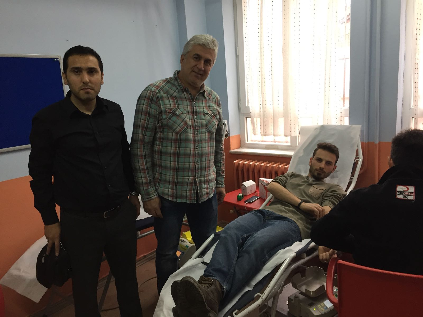 Mustafa Asım İlkokulunda Kan Bağışı Etkinliği