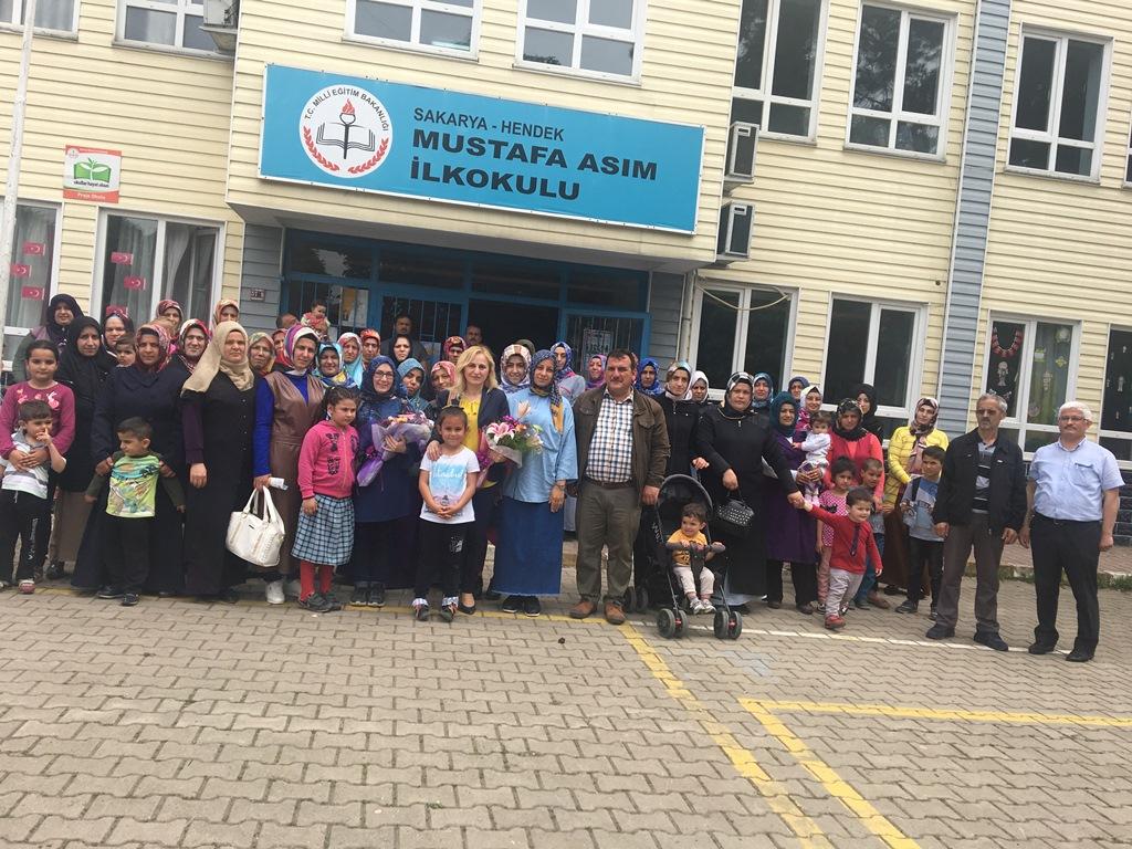 Mustafa Asım'da Hijyen Semineri Velilerle Devam Ediyor