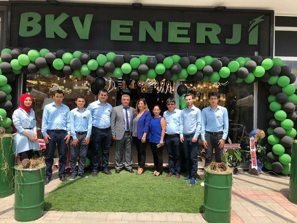BKV Enerji Yeni Yüzüyle Hizmete Açıldı