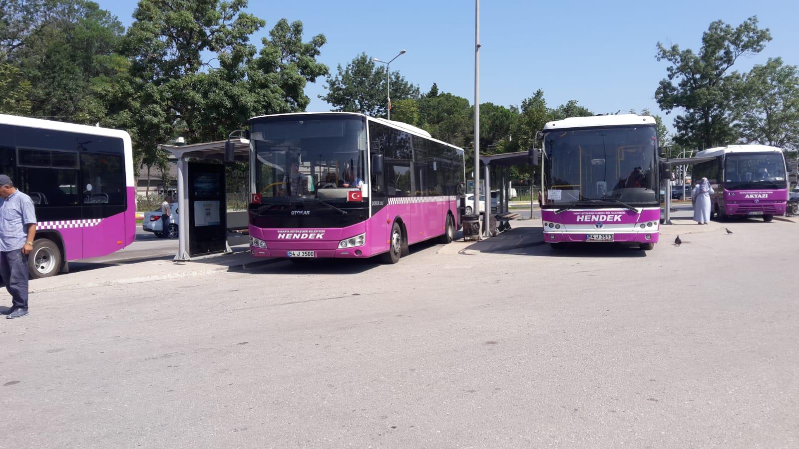 Hendek Otobüsleri Yan Yolu Kullanacak