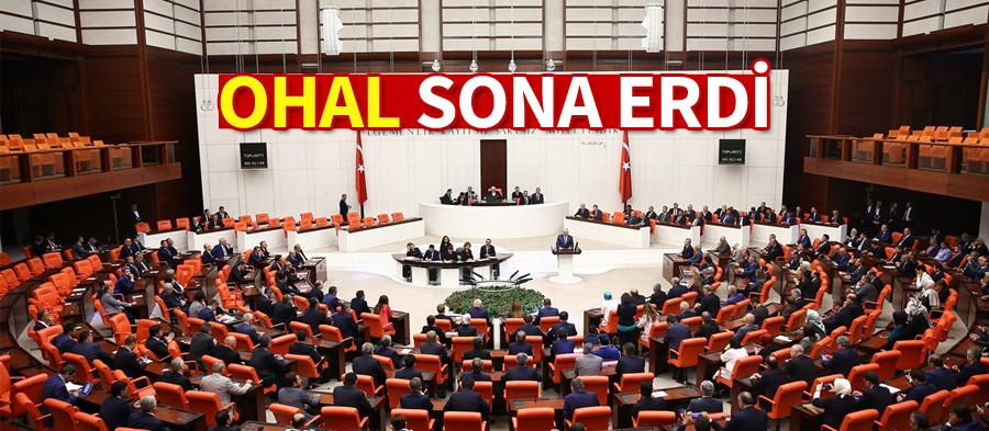 OHAL SONA ERDİ