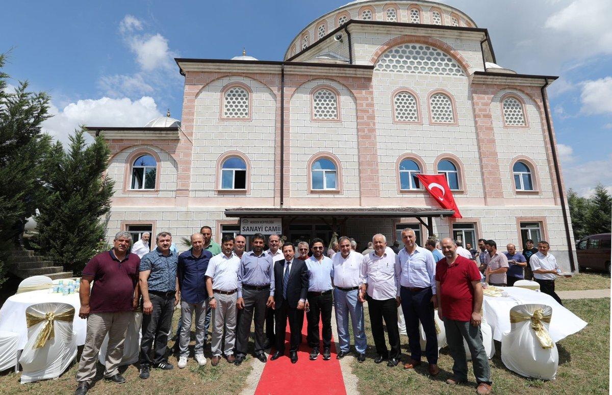 Küçük Sanayii Camisi Açılışı Gerçekleşti