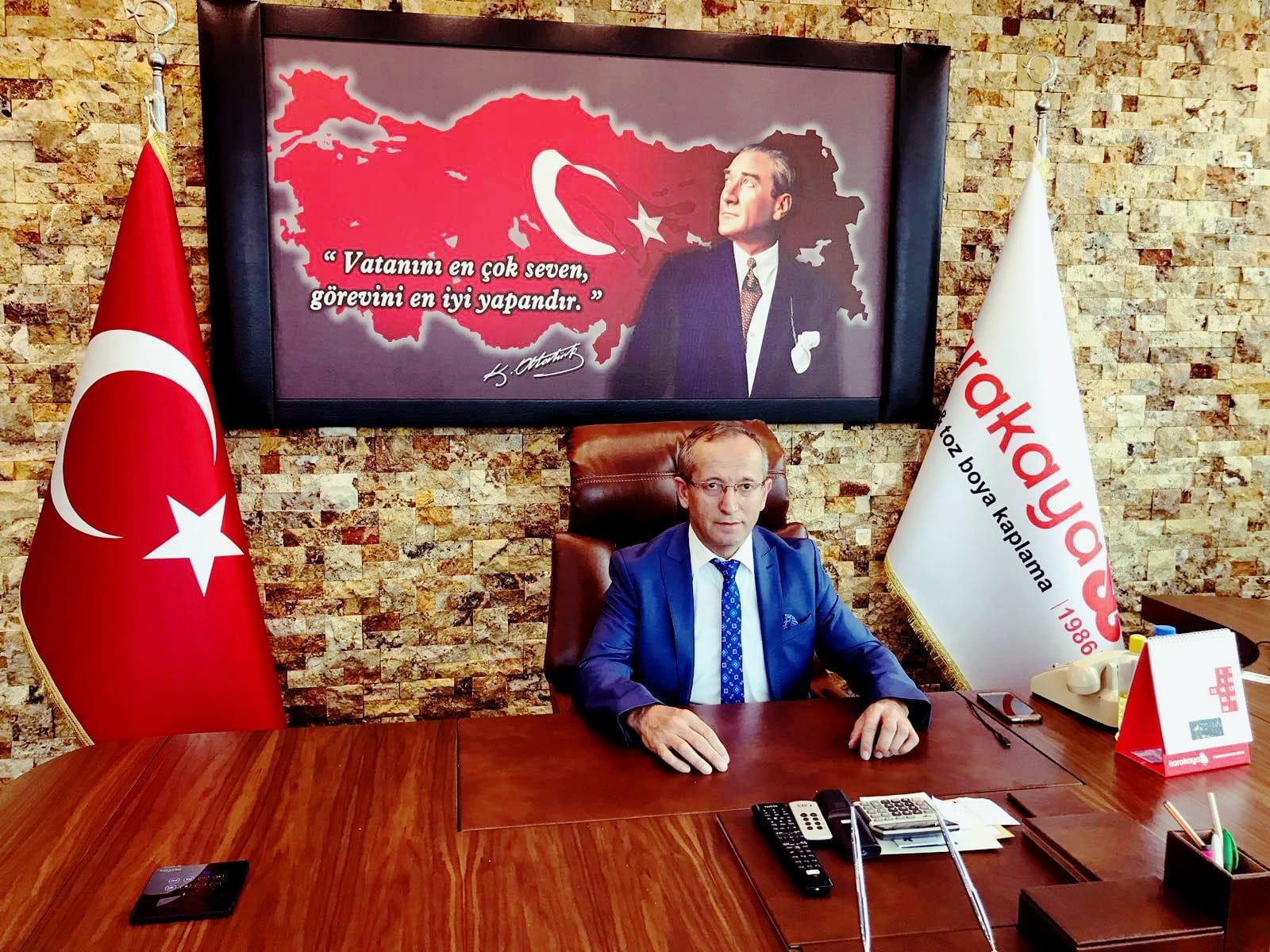 2.OSB Müteşebbisler Derneği Başkanı Karakaya; Kurban Bayramımız Mübarek Olsun
