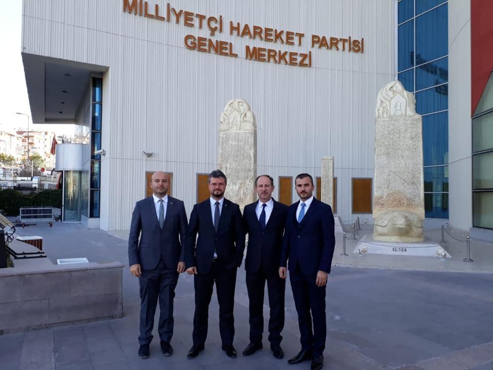 MHP Adapazarı İlçe Başkanı Oturak Oldu