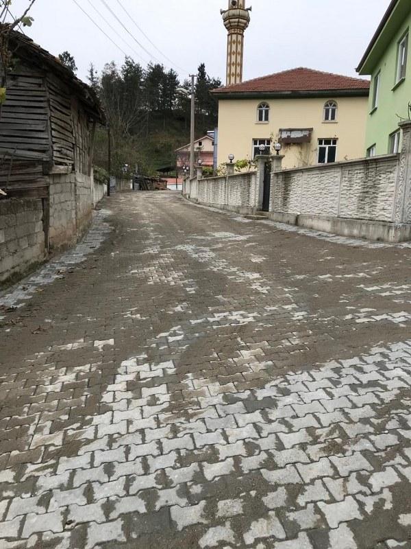 Gündoğan Mahallesi'ne kilit parke