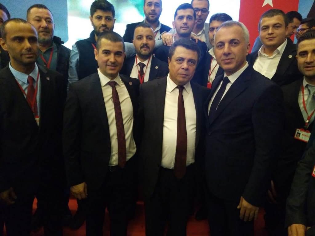 MHP'li Babaoğlu Metale Hayat Verenlerin Yanında