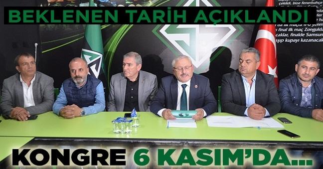 Sakaryaspor Başkan Vekili Bahadır Kongre Tarihini açıkladı