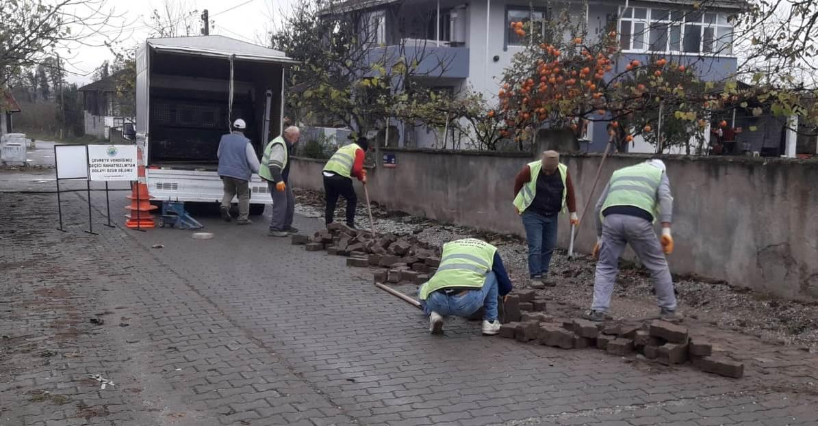 Hendek Belediyesi Harıl Harıl Çalışıyor