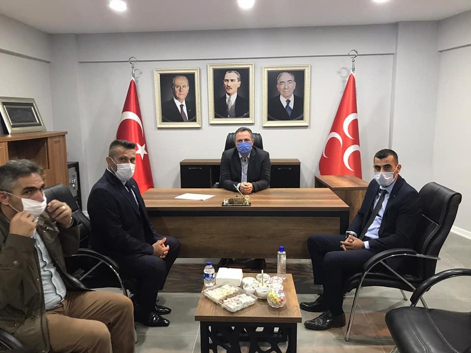 Ülkü Ocakları İl Başkanı Sofuoğlu Hendek'teydi