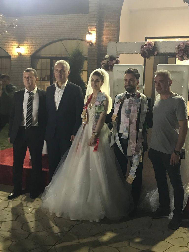 Siyaset ve Futbol Camiasını Buluşturan Düğün
