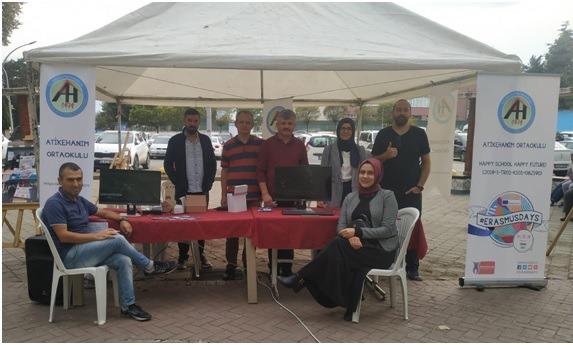 Atikehanım'dan Erasmus Etkinliği