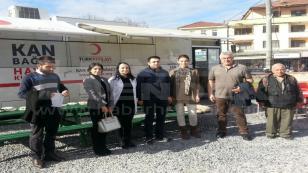 Yeşilyurt Mahallesinde Kan Bağışı Kampanyası