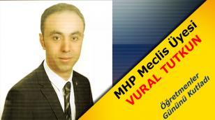 MHP Meclis Üyesi Vural Tutkun Öğretmenler Gününü Kutladı