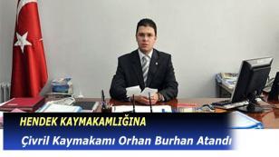 Çivril Kaymakamı Burhan Hendek'e Atandı