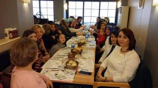 Türk Eğitim-Sen'liler Kahvaltıda Buluştu