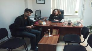 Yıldırım'ın, Bölüm Başkanı Özbey ile Özel Röportajı