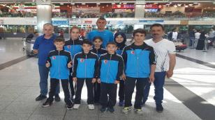 Hendek'li Yıldız Karateciler İsviçre'de
