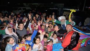 Çocuklar Nasrettin Hoca ile Eğlendi