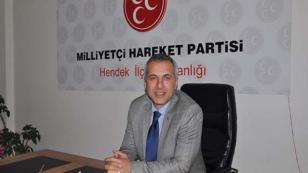 MHP İlçe Başkanı Babaoğlu; Kurban Bayramımız Mübarek Olsun