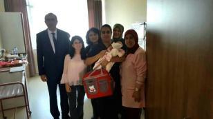 Hendek'te Hoşgeldin Bebek projesi başladı