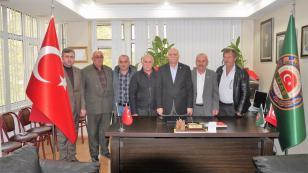 Bayraktar Hendek Ziraat odasını ziyaret etti