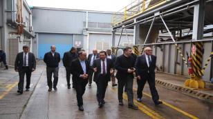 Vali Balkanlıoğlu İş Adamlarıyla Hendek OSB'yi Gezdi