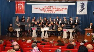 Türk Sanat Müziği Korosundan Muhteşem Konser