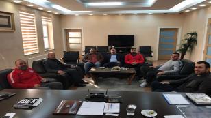 Başpehlivanlardan Başkan Püsküllü'ye ziyaret