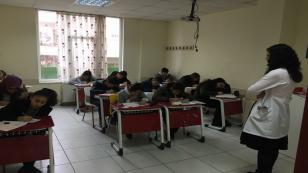 İmge Anadolu Lisesi İlk Bursluluk Sınavını Yaptı