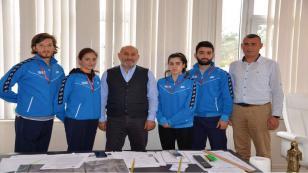 Hendekli Karateciler Büyükler Balkan Şampiyonası'nda