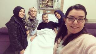 Genç Hakemlerimizden Ayşenur Şahin' in babası vefat etti