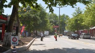 Gaffar Okkan Bulvarı Yenileniyor