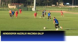 Hendekspor Hazırlık Maçında Üçüncü Lig Ekibini Yendi