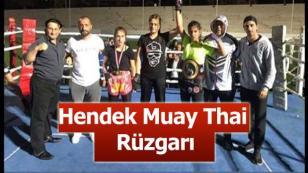 Bursa'da Hendek Muay Thai Rüzgarı