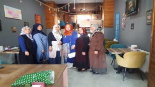 Ak Parti Kadın Kolları Çalışmalara Devam Ediyor