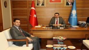 Baykal Ankara'da Yavuz ve Atabek'i Ziyaret Etti