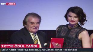 Canan Yener Reçber En İyi Haber Sunucusu Seçildi