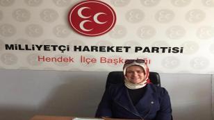 MHP Kadın Kolları Başkanı Gürbüz; Saygıyla, Özlemle Anıyorum