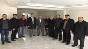 Burhan Hendek Ziraat Odası Yeni Binasını Ziyaret Etti