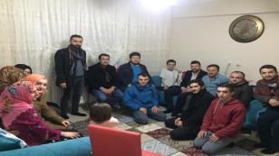AK Partili Gençler Ziyaretlerde